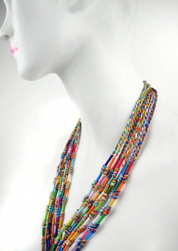 Price comparison product image Friendship Braids 14308 Braided Lanyard,  17-Inch Clipstrip Assortment