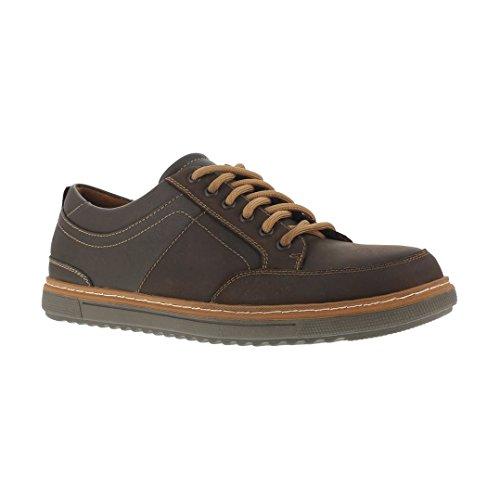 Florsheim Work Men's Gridley FS2600 Work Shoe, Brown, 11 D US by Florsheim