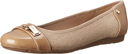 Anne Klein Women's Able Natural Multi Fabric 6.5 M US M