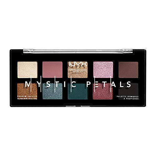 NYX PROFESSIONAL MAKEUP Mystic Petals Eye Shadow Palette, Dark -