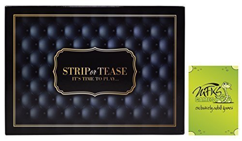 Strip or Tease, Adult Game For Couples and Lovers, Bundle