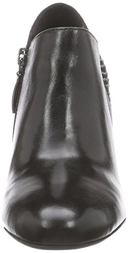 GERRY WEBER Fabienne 20 - botas de caño bajo de cuero mujer negro - negro