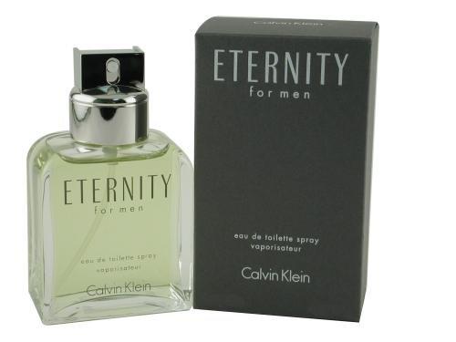 Eternity by Calvin Klein for Men, Eau De Toilette Spray, 3.4 Ounce