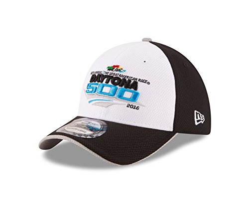 NASCAR Daytona International Speedway 2016 Kid's 39THIRTY Stretch Fit Drivers Cap, Black, Child/Youth (Nascar Speedway)