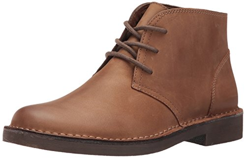 Dockers Men's Tussock Chukka Boot, Dark Tan, 8.5 M US