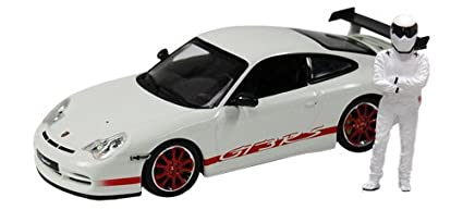 Amazon com: Porsche 911 GT3 RS - White (With Red Stripe)