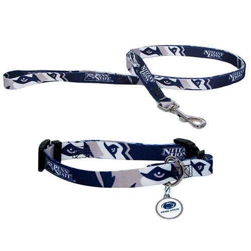 Hunter Penn State University Pet Combo Set (Collar, Lead, ID Tag), Large