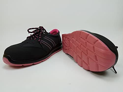 modelo 214 S1 EN ISO 20345 Zapatos de trabajo de seguridad para mujer Urgent