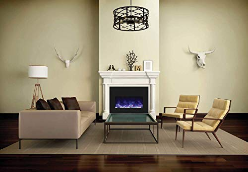 Amantii Insert Series Electric Fireplace (INSERT-33-4230-BG), 33-Inch ()