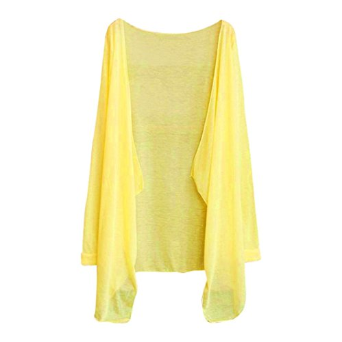 Thin T Solaire Tops Cardigan Long De E Yogogo Modal Femmes Protection VTements Iawzdqd