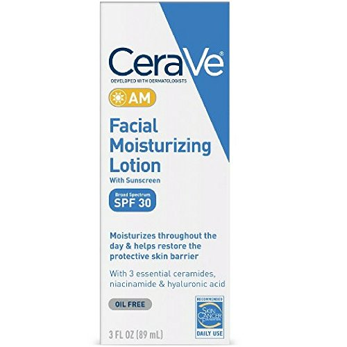 Cerave Facial Moisturizing Lotion Am Spf 30 3 Ounce 89ml 3 Pack