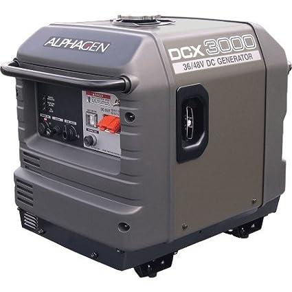 Alpha Technologies Alphagen DCX3000 3000 Watts 36/48 Volt Portable DC  Generator