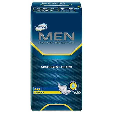 Serenity Male Guards - Tena Serenity Men's Absorbent Guard Level 2 - 3PC