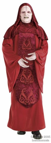 [Deluxe Emperor Palpatine Costume - X-Large - Chest Size 50] (Hot Halloween Costumes For Guys)