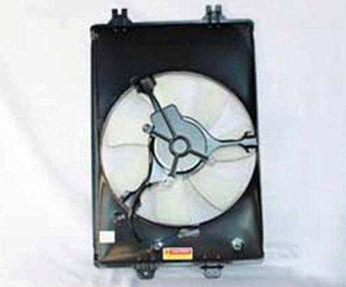 NEW AC CONDENSER FAN ASSEMBLY FITS 2006-2008 HONDA RIDGELINE 38611-RJE-A01 76038