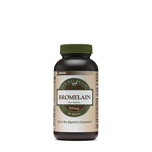 GNC Natural Brand Bromelain 500mg,60 servings For Sale