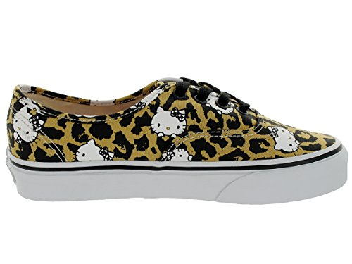 color Kitty Vans Authentic True 08 5 Leopard marrón talla White UK Shoes Hello Aw0Rq0xBt