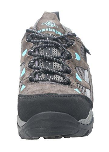 Picture of QOMOLANGMA Women's Waterproof Wide Hiking Shoes Anti-Skid Walking Sneaker for Running Trekking Outdoor