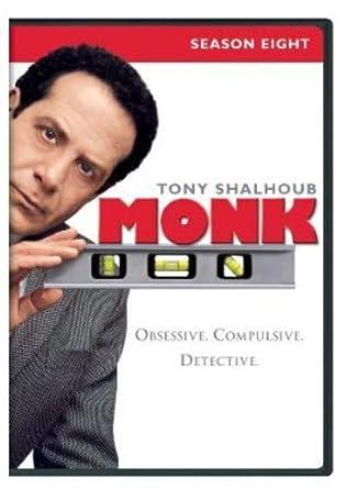 Amazon Com Monk Season 8 Tony Shalhoub Traylor Howard Jason Gray Stanford Ted Levine Movies Tv