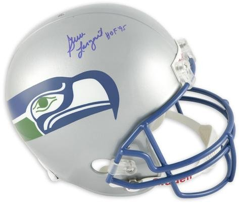 Steve Largent Seattle Seahawks Autographed Replica Helmet with