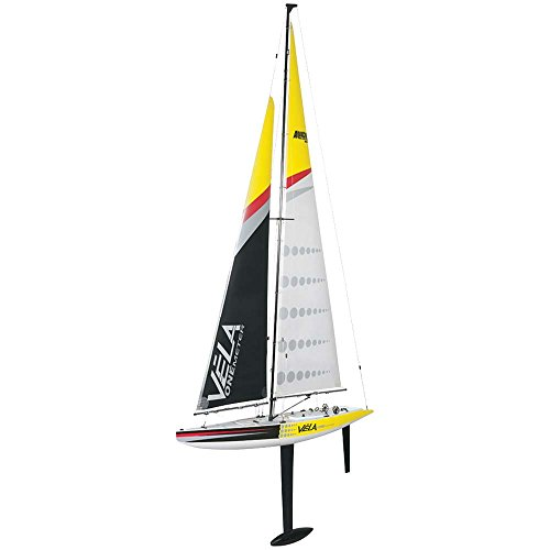 Radio Controlled Sailboat (Aquacraft Vela 1M TTX410 2.4GHz Sailboat)