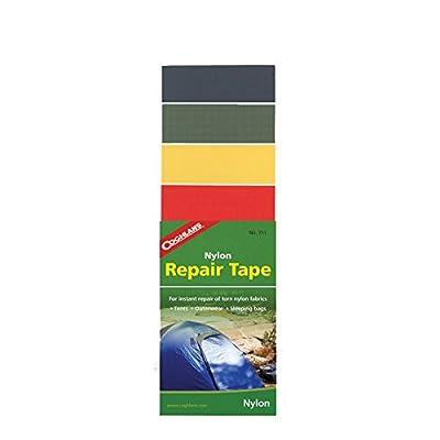Coghlan's Kit réparation - Nylon - Auto-adhésif - 4 couleurs