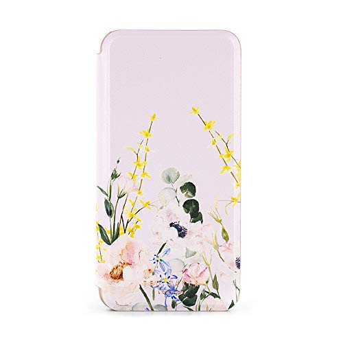 Ted Baker Mirror Folio Case with Outer Card Slot for iPhone Xs Max, Protective Cover for Professional Womens/Girls for iPhone Xs Max