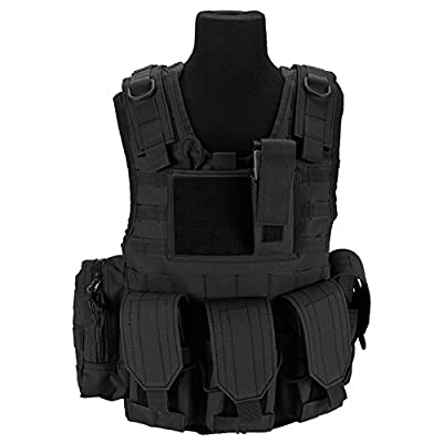 Evike Matrix Tactical Systems Junior Size Ciras Tactical Vest - BK/OD/Tan