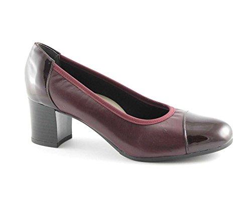 Grünland CIAC SC2315 de zapatos burdeos estiramiento mujer dcollet Rosso
