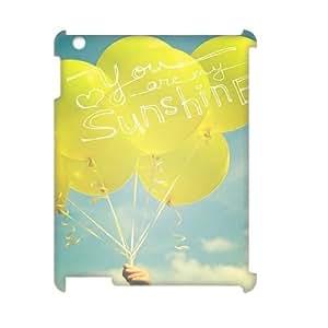 Cheap 3D iPad2,iPad3,iPad4 Case, You Are My Sunshine quote New Fashion Phone Case