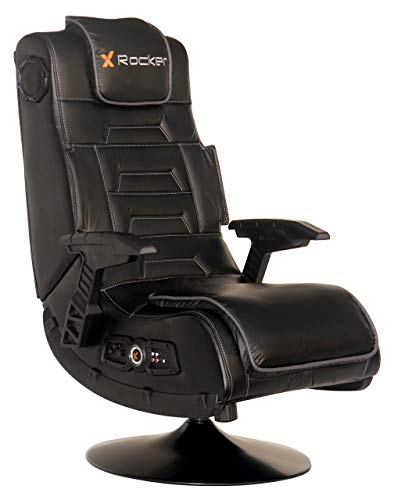 X Rocker 51396 Pro Series Pedestal 2.1 Video Gaming Chair, Wireless (Certified Refurbished)
