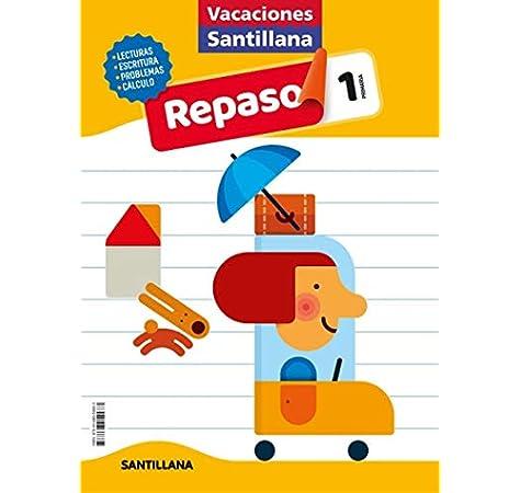 VACACIONES SANTILLANA 1 PRIMARIA ACTIVIDADES DE REPASO PARA EL VERANO: Amazon.es: Vv.Aa, Vv.Aa: Libros