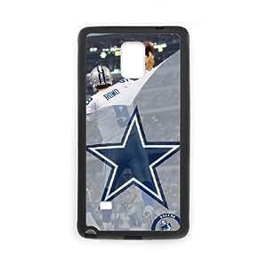 Dallas Cowboys Team Logo Samsung Galaxy Note 4 Cell Phone Case Black 218y3-170800