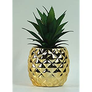 "Surprise Art Pineapple Artificial Potted Succulent 7.8"" Pineapple Home Tabletop Decoration 90"