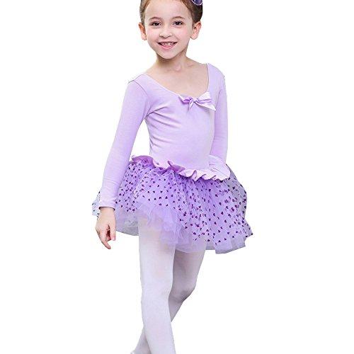 Lisianthus Girls Tutu Gymnastics Leotard Ballet Dress