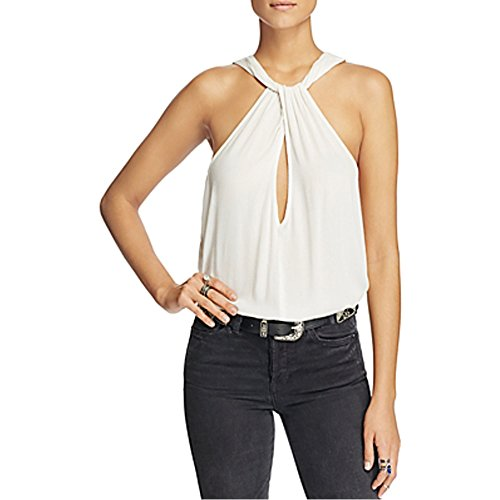 Free People Twist and Shout Sleeveless Top Ivory Small from Free People