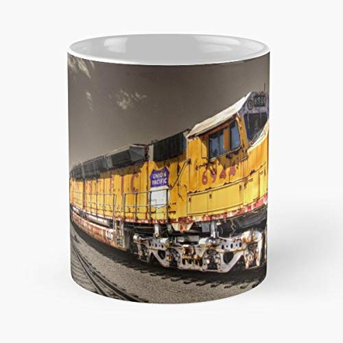 Union Pacific Centennial Diesel - Ceramic Novelty Mugs 11 Oz, Funny Gift