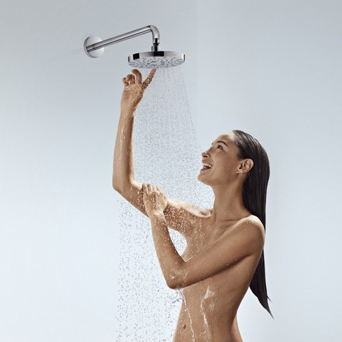 Haoran Luxury 3-Way High Pressure Rainfall Shower Head /Handheld Shower Combo, Rub-Clean Jets /ABS Material with Premium Chrome Finish 2.5 Gpm, Enjoy An Invigorating Spa-Like Experience high-quality