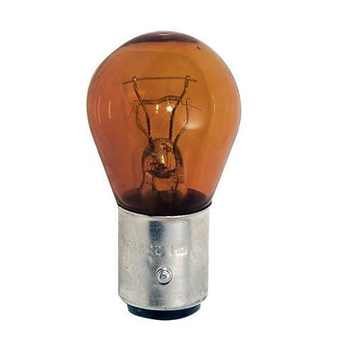 PHILIPS 1157 NA 12.8/14.00V 26.88/8.26W Automotive Lamp Amber Standard (Legends Of Na)