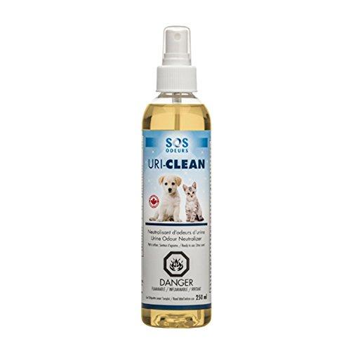 Uri-Clean Spray contre les odeurs d'urines animales 250 ml SOS Odeurs