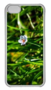 Customized iphone 5C PC Transparent Case - Fallen Blossom Personalized Cover by mcsharks