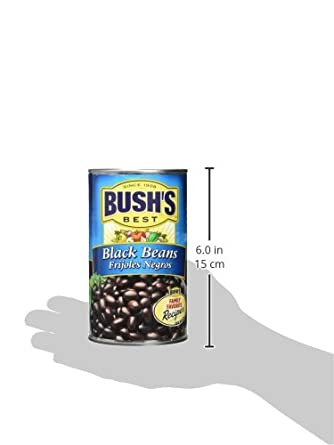 Bushs Best Black Beans, 26.5 oz (12 cans)