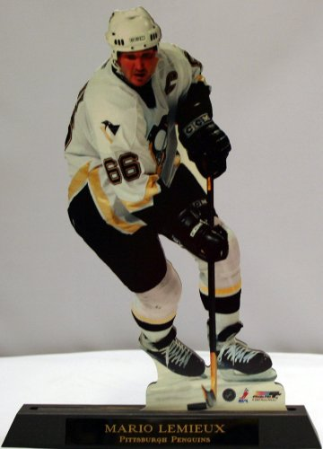 Mario Lemieux Pittsburgh Penguins Standee Cut Out Photo