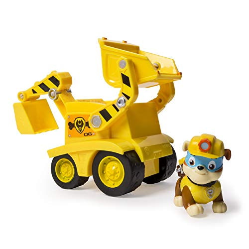 Paw Patrol - Rubble's Dump Truck - Vehicle and Figure -
