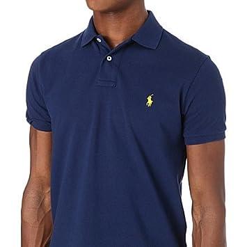 c0f364ba Ralph Lauren Polo Mens Navy Blue Golf Polo Shirt (XXL): Amazon.co.uk:  Sports & Outdoors