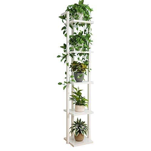 バルコニーの植物の花の立場、多層金属の植物の立場、列の鉢植えのフレーム、理想的なテラス、ポーチの庭 (サイズ さいず : C) B07RQF1TLQ  C