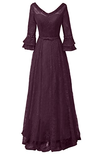 Missdressy - Vestido - trapecio - para mujer morado 38