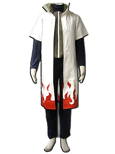 Love Anime Ninja Shinobi Yondaime Hokage Namikaze Minato Cosplay Costume