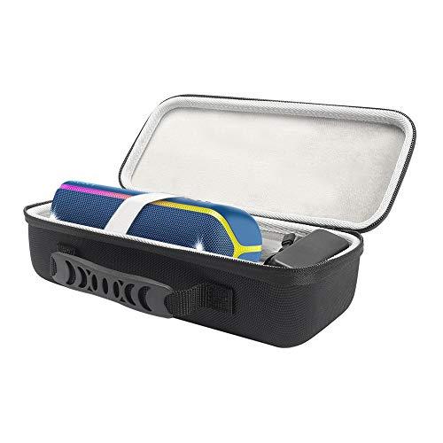 Gubest For 소니 Sony SRS-XB32 케이스 EVA SRS-XB32 무선 휴대용 스피커 케이스 보호 케이스 휴대용 수납 파우치 가방 수납 가방
