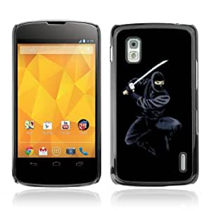 YOYOSHOP [Cool Ninja] LG Google Nexus 4 Case